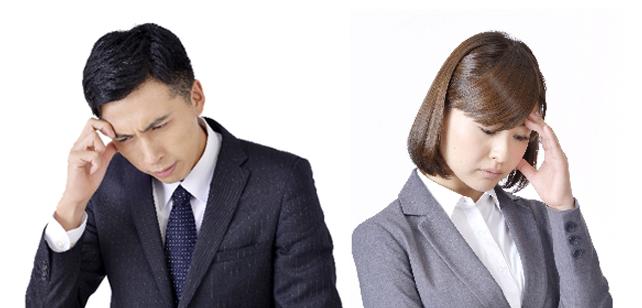 毛髪の悩みを抱える男性と女性