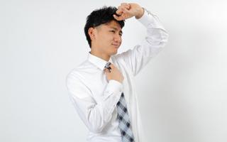 ワキガ・多汗症に悩む男性